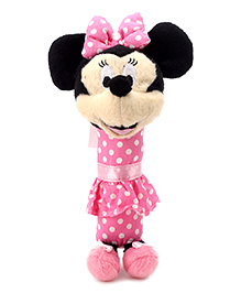 Disney International Minnie Squeaker Soft Toy - Height 20 cm