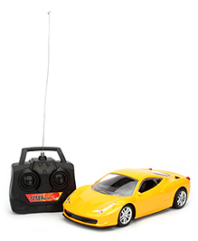 Remote Controlled Car - Yellow