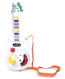 Prasid Musical Guitar - White And Blue