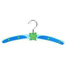 Baby Hanger Frog Design - Blue