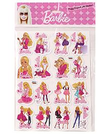 Barbie Puffy Original A4 Stickers