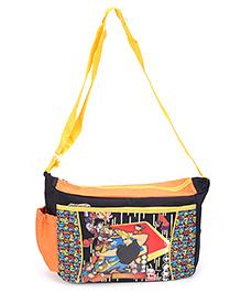 Disney Jhony Bravo Messenger Bag Black - 9 Inches