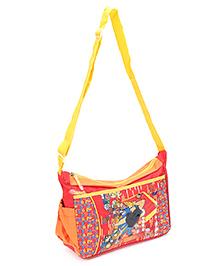 Disney Jhony Bravo Messenger Bag Red - 9 Inches