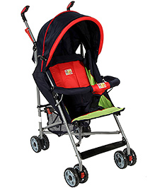 Mee Mee Stroller With Canopy MM-8369 A - Red