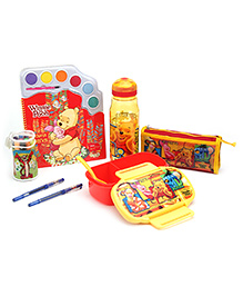 Winnie The Pooh School Kit Pack Of 6  - Yellow