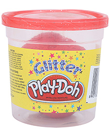 Funskool Play Doh Glitter -  Red