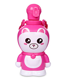 Water Bottle Animal Shape 400 ml - Pink