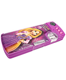 Disney Princess Rapunzel Pencil Box - Purple