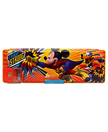 Mickey Mouse And Friends Pencil Box - Yellow And Orange