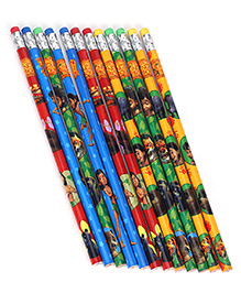 Jungle Book HB Pencil Pack Of 12 - Multicolor