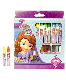 Sofia The First Oil Pastel - 24 Shades