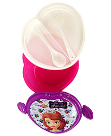 Sofia The First Spill Proof Lunch Box - Pink