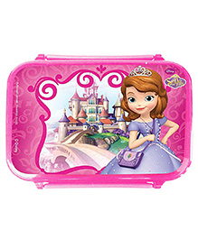 Sofia The First Lunch Box Spill Proof - Pink