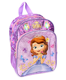 Sofia the First School Bag 12 Inches - Purple