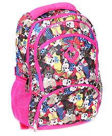 Mickey Mouse And Friends School Bag 16 Inches - Pink