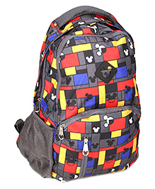 Mickey Mouse And Friends School Bag 19 Inches - Dark Grey