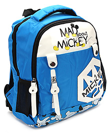 Mickey Mouse And Friends School Bag Blue - 13 Inches