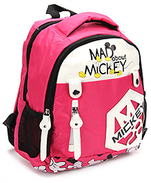 Mickey Mouse And Friends School Bag Pink - 13 Inches