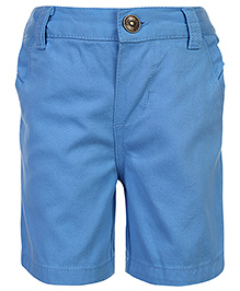 Nauti Nati Plain Shorts - Sky Blue
