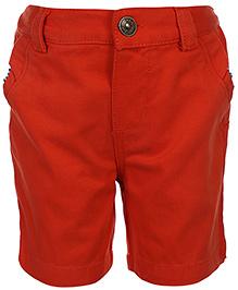 Nauti Nati Plain Shorts - Orange