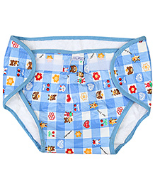 Babyhug Waterproof Nappy With Velcro Closure XXLarge Single Piece - Assorted Colors