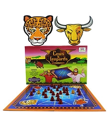 Happy Kidz Cow And Leopards Traditional Indian Board Game