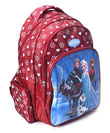 Disney Frozen School Bag 17 inches - Maroon
