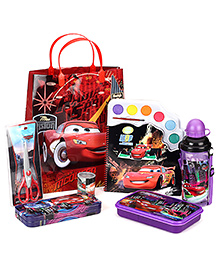 Disney Pixar Cars School Kit Pack of 7 - Purple