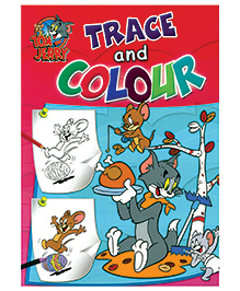 Tom and Jerry Trace and Colour - English