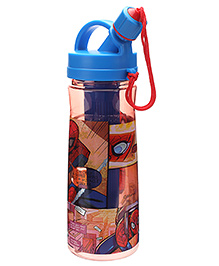 Marvel Spider Man Water Bottle Blue And Red - 600 Ml