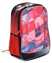 Mickey Mouse And Friends School Bag 18 Inches - Red And Black