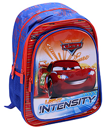 Disney Pixar Cars School Bag 14 Inches - Blue And Red