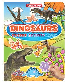 Sticker Activity Book Dinosaurs - English