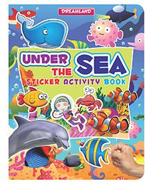 Sticker Activity Book Under The Sea - English