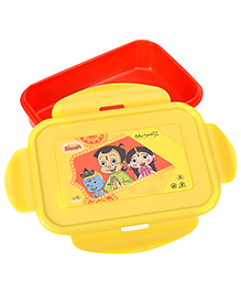 Chhota Bheem Super Lock And Seal Lunch Box - Dual Color