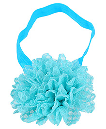 Dchica Soft Net Headband - Light Blue