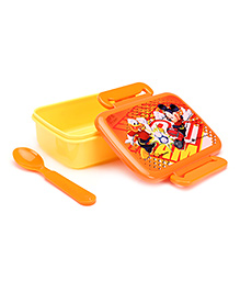 Mickey Mouse And Friends Lunch Box - Orange And Yellow