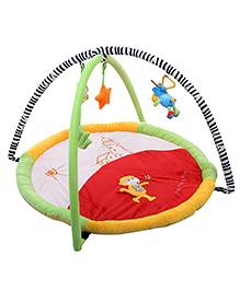 Mee Mee Deluxe Musical Activity Gym - Dark Red