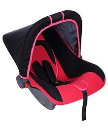 Infant Car Seat Cum Carry Cot - Dark Pink
