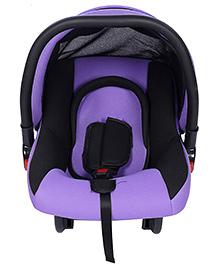 Infant Car Seat Cum Carry Cot - Purple And Black
