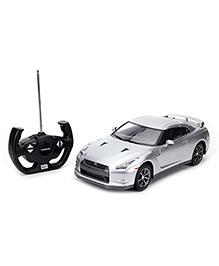 Rastar Remote Controlled Car Nissan GTR - Silver