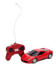 Rastar Remote Controlled Ferrari 458 Car - Red