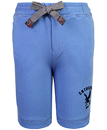 Little Kangaroos 2 Pockets Bermuda Shorts - Light Blue