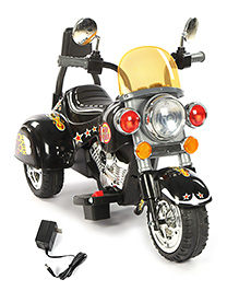 Battery Operated Baby Bike Ride-On - Black