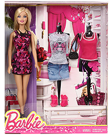 Barbie Doll And Accessories - Doll Height 29 Cm