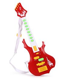 Mitashi Sky Kidz Rock Star Guitar - Red And White