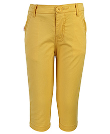 Baby League Full Length Trouser - Yellow