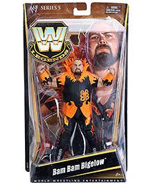 WWE Bam Bam Bigelow Figure Black And Orange - Height 18 cm