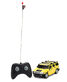 Majorette Dickie Hummer H2 Remote Control Car - Yellow