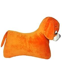 Soft Buddies Floor Pillow Orange - Height 15 Inches
